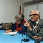 Xosé Neira Vilas e a súa dona Anisia Miranda