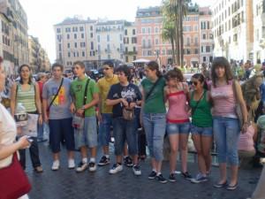 En Piazza Spagna