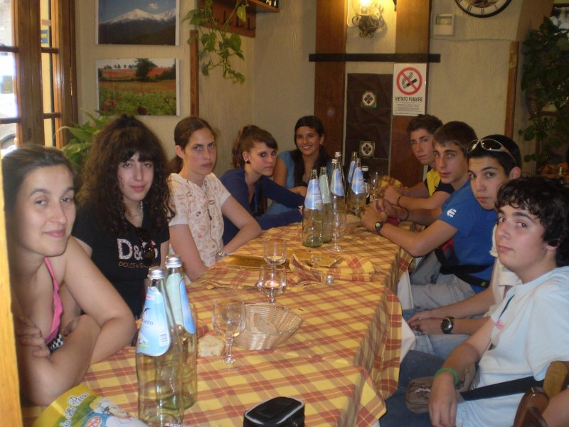 Comendo perto do Vaticano