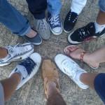 Aos pés da cúpula de San Pedro
