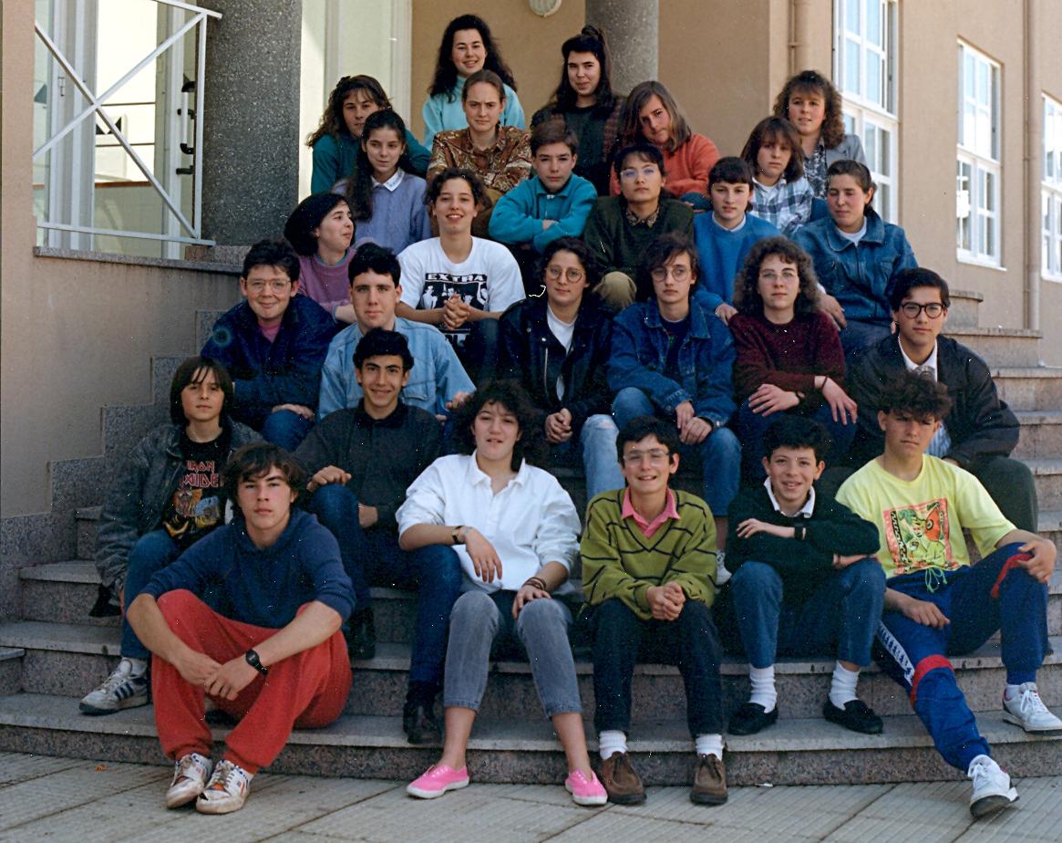 BUP 1ºE 1989-1990