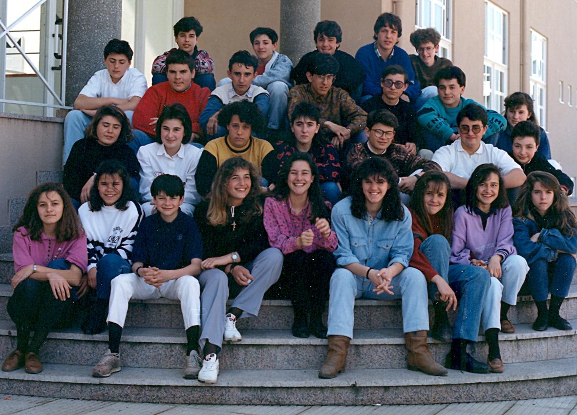 BUP 1ºF 1989-1990