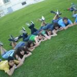 Na herba de Villa Borghese