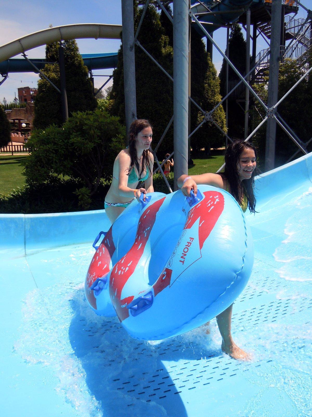 Tarde no Aquapark