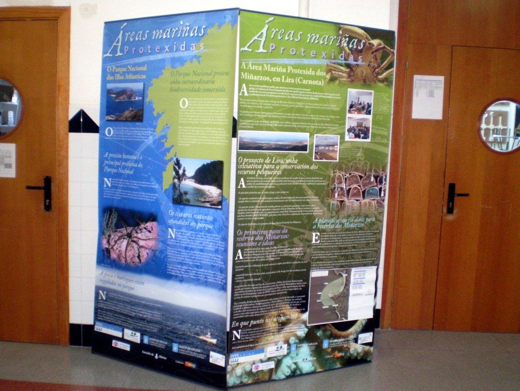 Exposición: Áreas mariñas protexidas