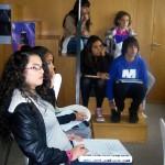 Visita dos monitores ó museo arqueolóxico de A Coruña