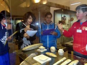 Traballo de arqueoloxía do alumnado de primeiro de ESO