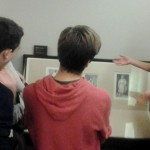 Visita á obra gráfica de Goya e taller de gravado