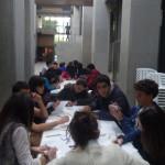 Taller de gravado e visita ó Museo de BBAA do alumnado de 4º curso