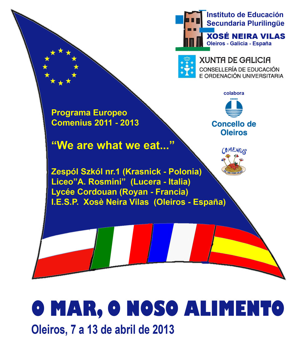 Cartel Comenius Galego