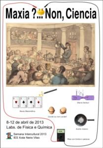 Cartel de Maxia?... Non, Ciencia