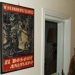 """Cartel da portada da primeira edición de """"O Bosque Animado"""", novela máis coñecida de Wenceslao Fernández Flórez"""
