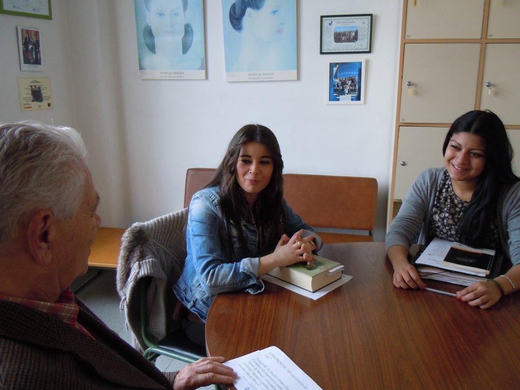 Entrevistado por Carlota Caramés e Macarena Farías