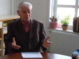 Emilio Gómez na entrevista