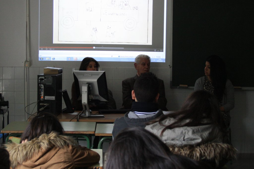 Durante a conferencia