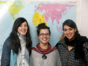 Sara, Emilie e Amy
