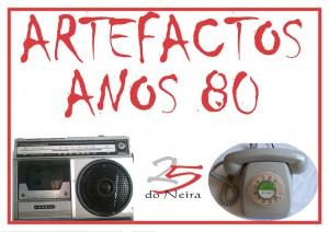 Exposición Artefactos Anos 80