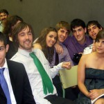 Daniel, Bruno, Cristina, Miguel, Sergio, Mateo e Rebeca