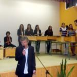 O concerto dos alumnos de 1º de Bach.
