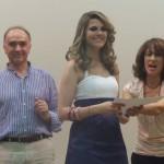 A entrega do diploma