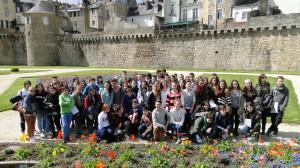 VIº Intercambio Escolar I.E.S.P. Xosé Neira Vilas de Oleiros-Collège Notre Dame Le Menimur Skolaj Diwan Ar Mor-Bihan de Vannes