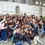 Casi todos con algunos franceses en el colegio