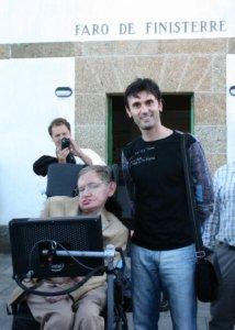 Stephen Hawking e Jorge Mira