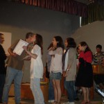 participantes intercambio escolar Vannes