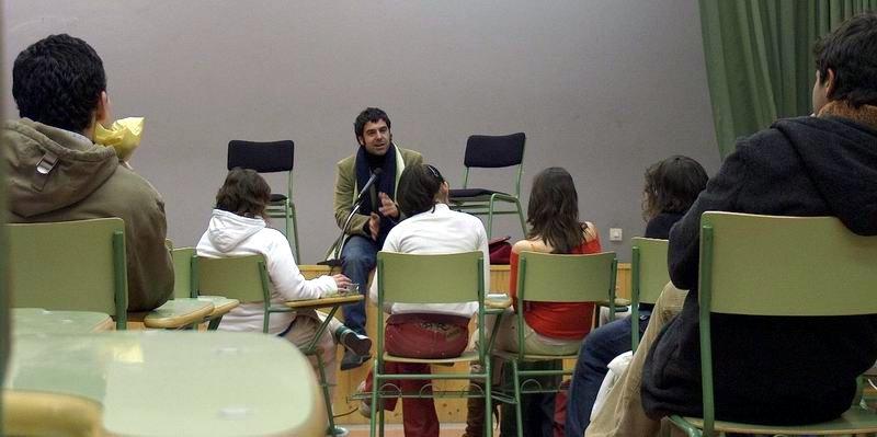 Conferencia do actor Víctor Mosqueira