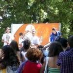 Festa de fin de curso en Santa Cruz