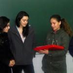 Despedida das alumnas Talita e Taiuane