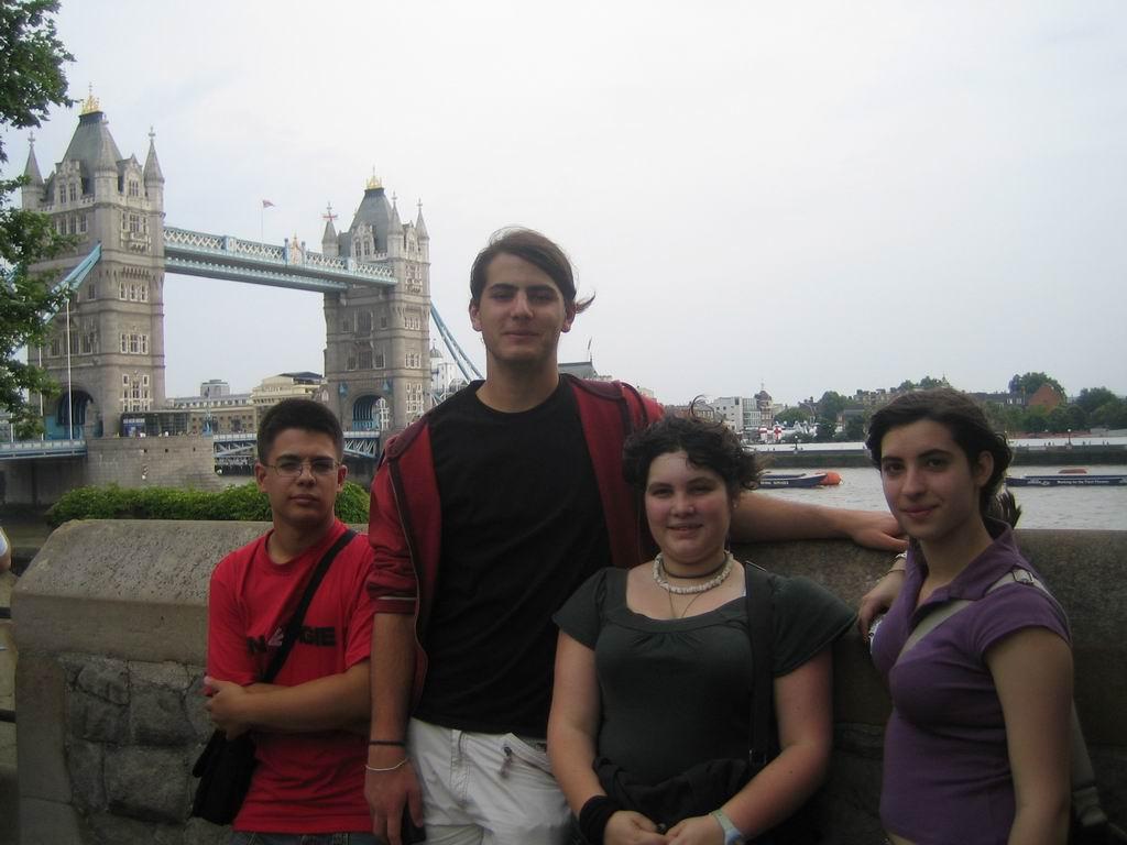 Tower of London vista desde London Bridge
