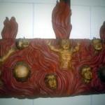 Igrexa de Lians. Animas do purgatorio