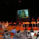 3º ESO A interpretando unha canción tradicional hebrea en Adén