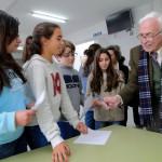 Neira Vilas visita o seu instituto