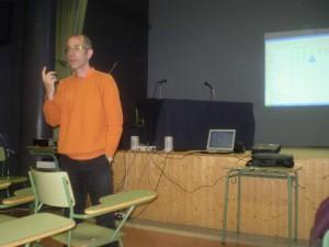 O profesor Laureano Jiménez