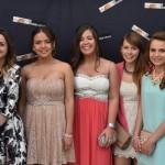 Nuria, Eva, Carmelina, Dámaris, Gema, Andrea, Laura e Nicole
