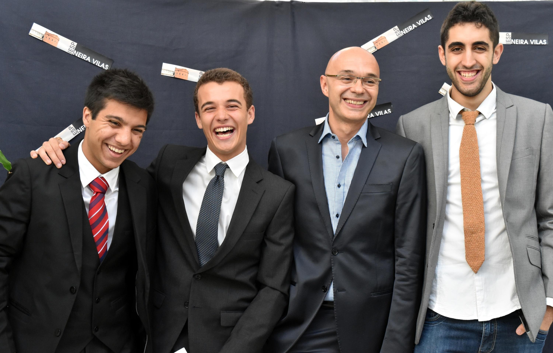Adrián, Antón, Jorge e Martín