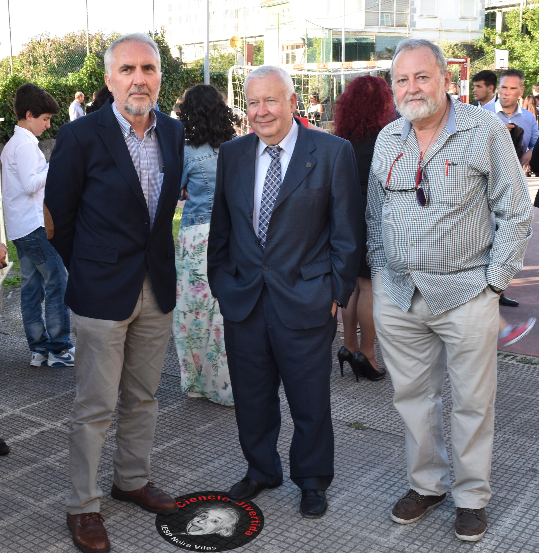 Eduardo, Ramón e Nacho
